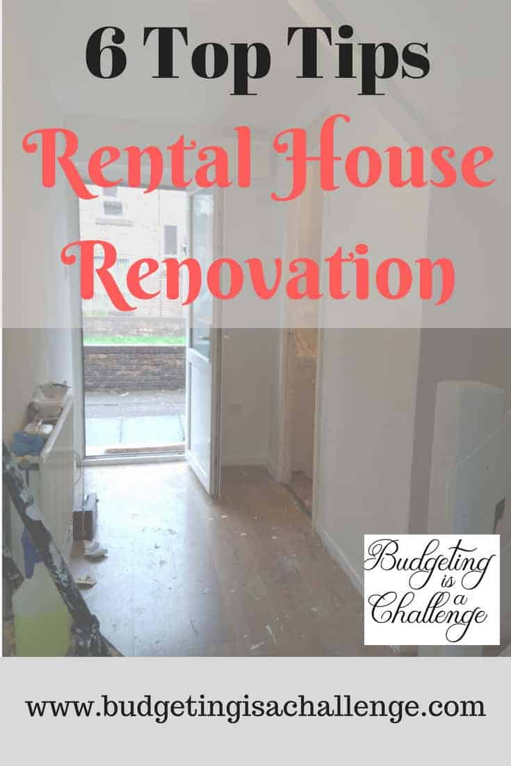 How to renovate rental houses - my approach