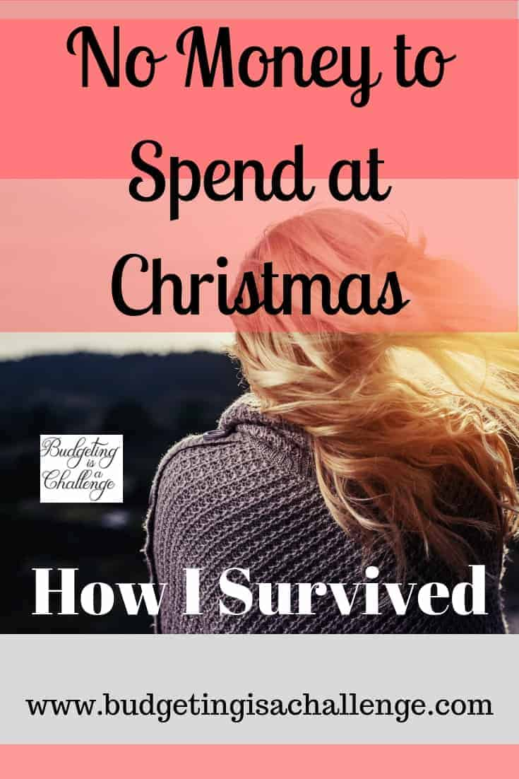 No money at christmas how i survived