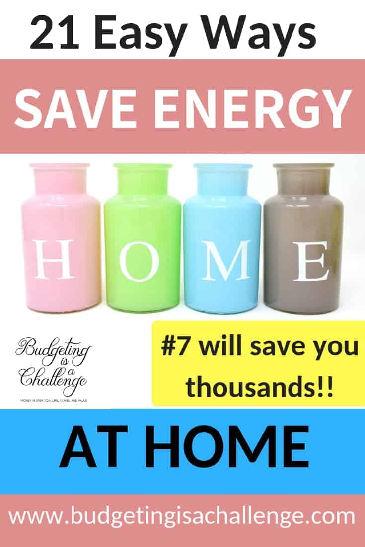 21 Easy Ways to Save Money on Energy at Home