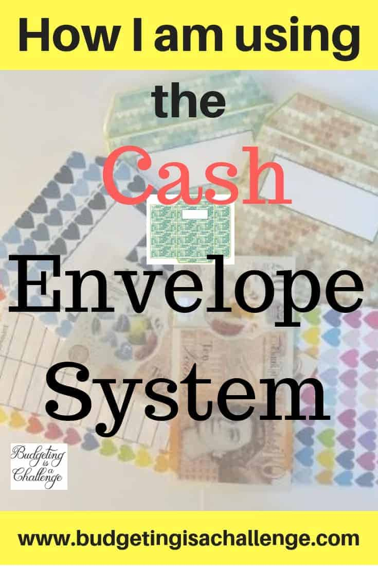 Dave Ramsey's Cash Envelope System - How I'm Using it