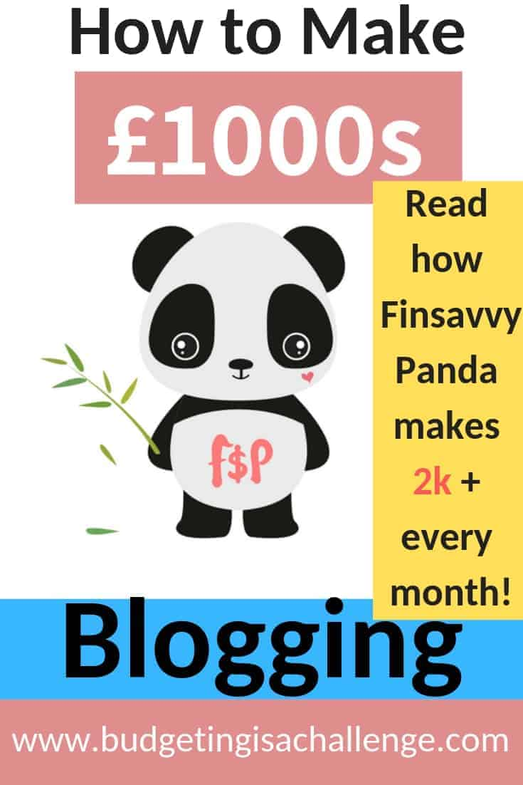 Are you a new blogger and want to find out how to make money blogging? Read my interview with Finsavvypanda and find out how she makes over 2k a month from her blog. She reveals her steps to success in affiliate marketing, organising her blogging schedule and building her blog traffic #affiliatemarketing #blogtraffic #bloghacks #makemoneyblogging