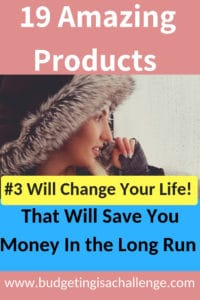 Are you keen to budget but want to cut your overall spend over time? Read my guide on the 19 products that are more expensive but work out cheaper in the long run. #budget #buycheapbuytwice #inthelongrun #geniusproducts #saveextracash #budgetingisachallenge