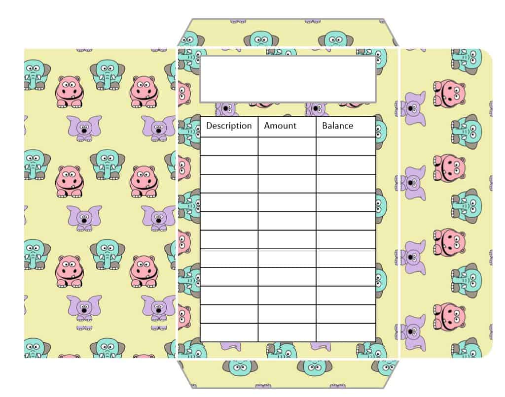 picture regarding Printable Cash Envelopes identified as Money Envelopes Adorable Pets Layout (Printable) - Budgeting is a Difficulty
