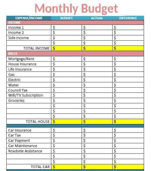 Are you thinking of starting a budget and reducing your spending? Try my free monthly budget planner to organise your personal finance. UK and US version available. Space to customise and use with cash envelope system.