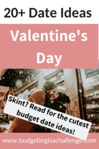 Are you skint? Read my 20+ ideas for Cheap Dates for Valentine's Day. Contributions from the UK Money Bloggers. #budgetvalentine #valentinesday #cheapdates #savemoney