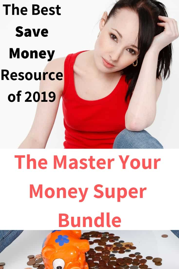 The Best Save Money Resource of 2019. Do want to learn how to save more money, get out of debt or spend less? A group of awesome bloggers are offering their resources for 6 days at a staggering price of $37! For a bunch of money resources!