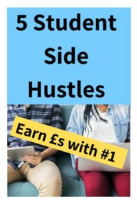 Learn about the perfect side hustles for students. Emma Drew takes us through the best ideas that can fit around college and enable you to earn extra money. #sidehustle #sideincome #student