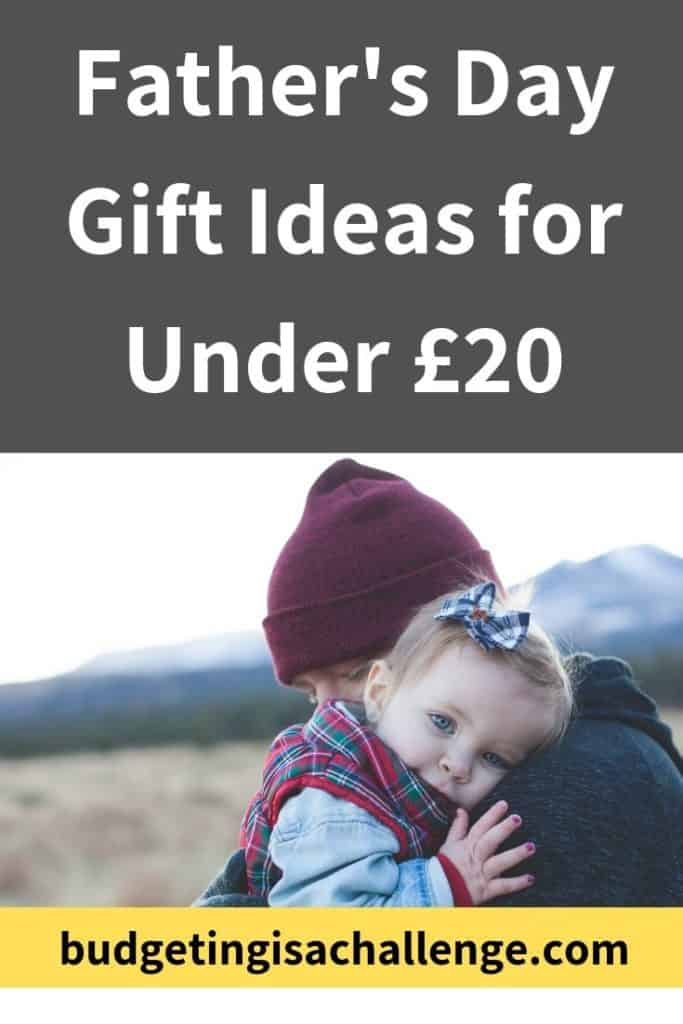 Do you need ideas for unique, budget Father's day gift ideas? 16 gifts for dad for under £20. #fathersdaygifts #giftideas #giftsforhim