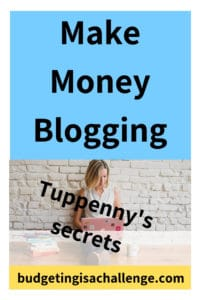 Have you wondered how to make money blogging? Are you looking for blog secrets from the experts? Read my interview with Emma from Tuppennys Fireplace, who reveals her top productivity secrets, blog tools and how she set up her blog to make money #startablog #makemoneyblogging #blogsecrets #ladyboss