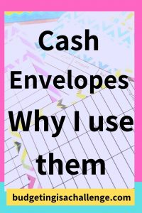 Printed cash envelopes in different designs