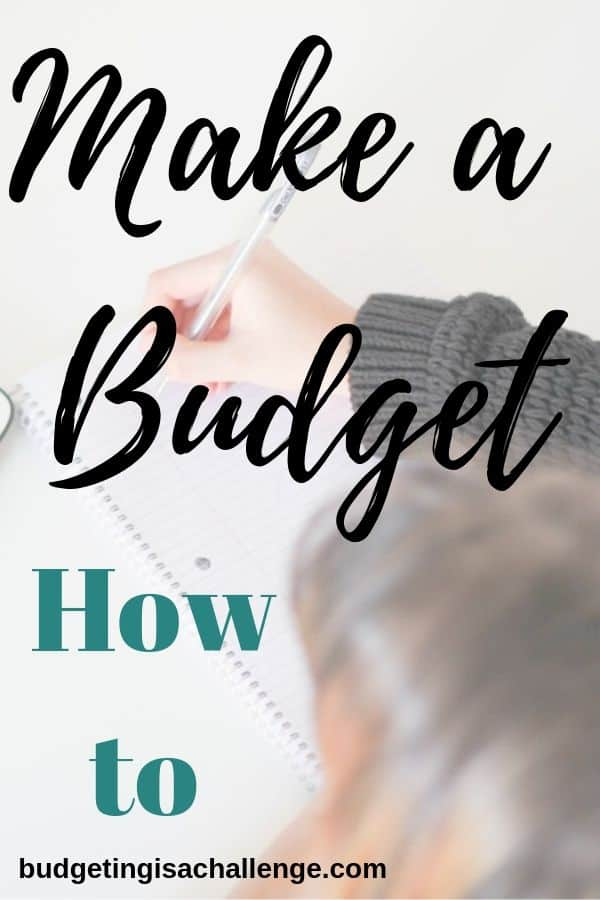 Do you need help with how to make a budget? Read my guidance on how to set up your monthly budget, different types of budget, and sticking to your budget. #budgeting #howtomakeabudget #makeabudget #budgetsheet #budgetapp
