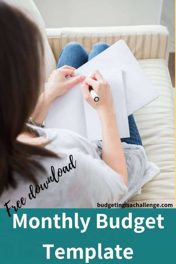 Do you need a blank budget sheet? Subscribe and download a free version from budgeting is a challenge