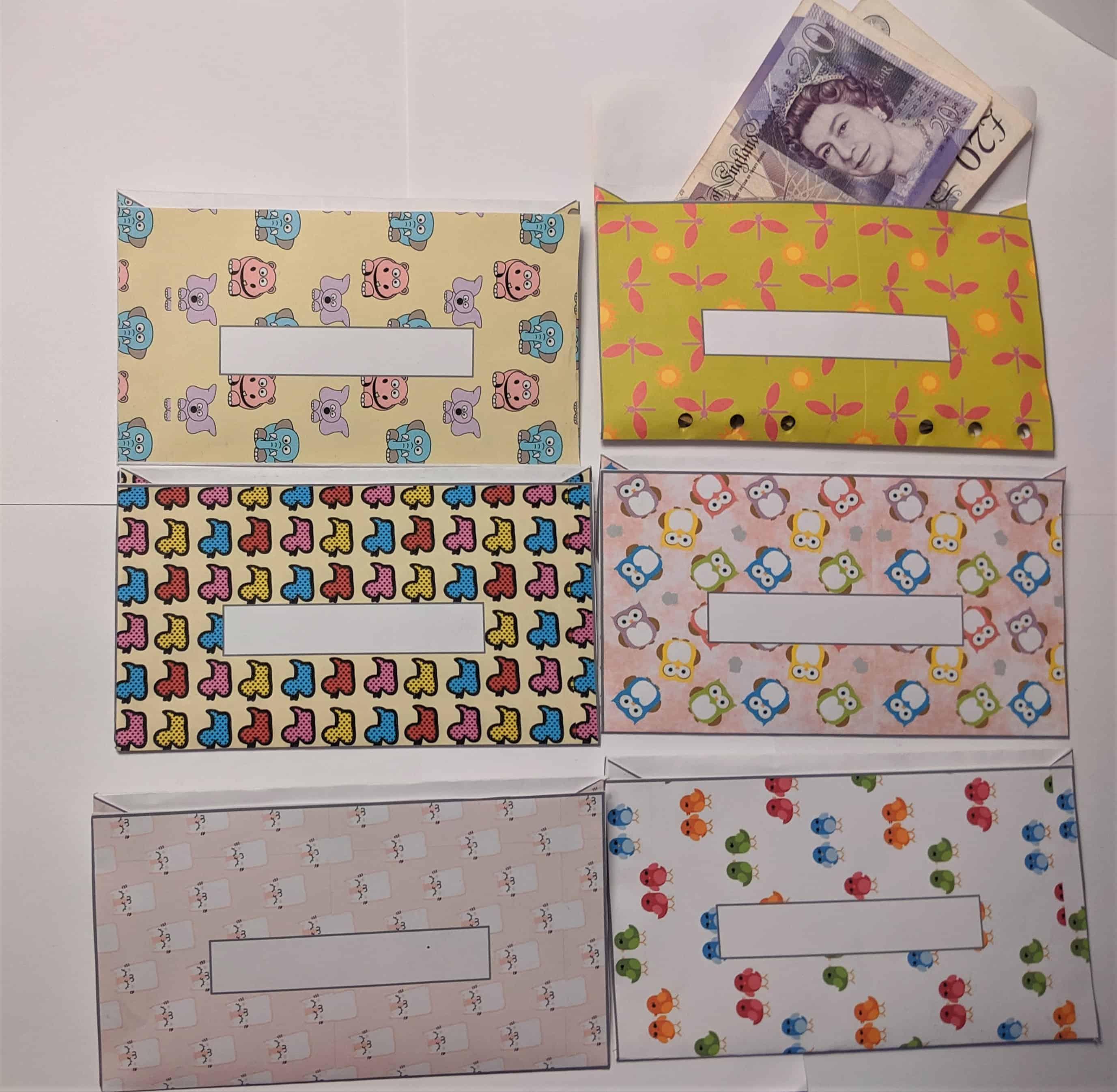 Want to start cash budgeting? Cash envelopes with a cash budget really work! I love these cute animal envelopes!