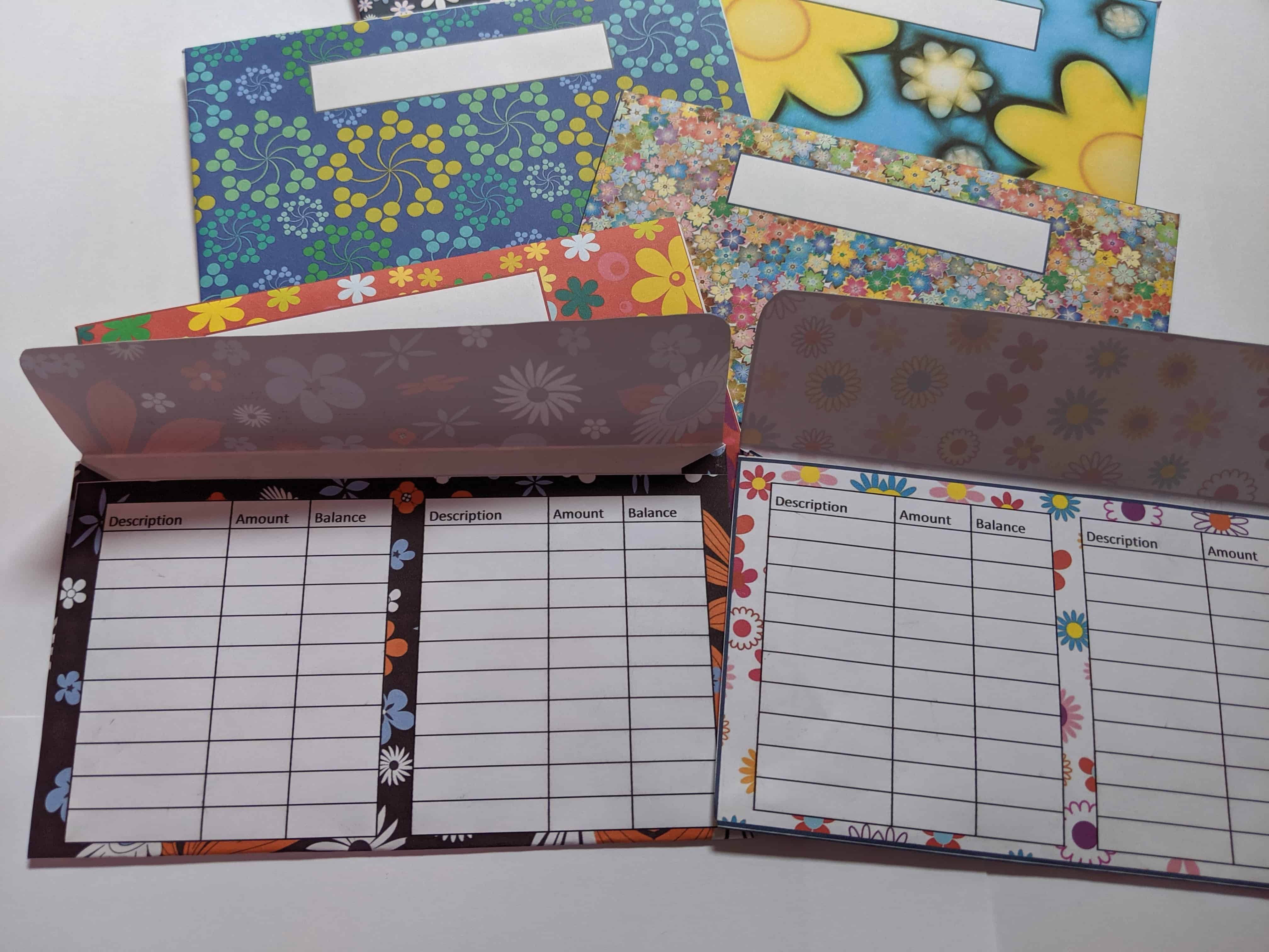Looking for cute cash envelopes? Here are my cute flower design series money envelopes. Use to complement your monthly budgeting.