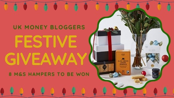 Fancy winning a christmas hamper? Enter the UK Money bloggers' giveaway for free! #competition #free #hamper