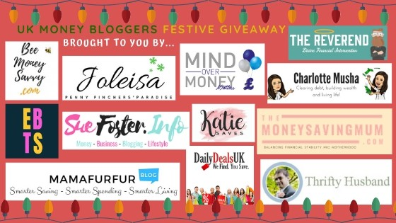 Fancy winning a christmas hamper? Enter the UK Money bloggers' giveaway for free! Christmas 2019 #competition #free #hamper