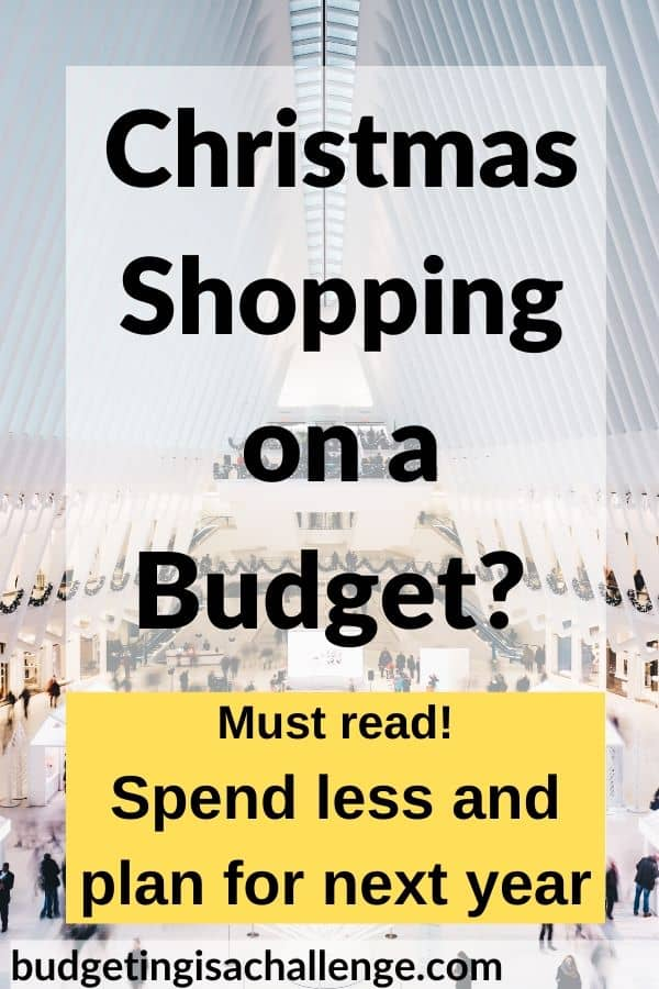 Sick of using credit at Christmas? Read my top tips for saving money when Christmas shopping, how to organise it and how to set a Christmas budget for next year. #christmas #budgeting #cashenvelopes #christmasbudget