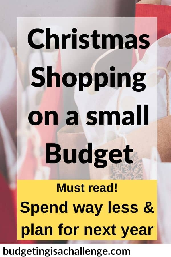 Sick of using credit cards at Christmas? Read my top tips for saving money when Christmas shopping, how to organise and limit spending and how to set a Christmas budget for next year. #christmas #budgeting #cashenvelopes #christmasbudget