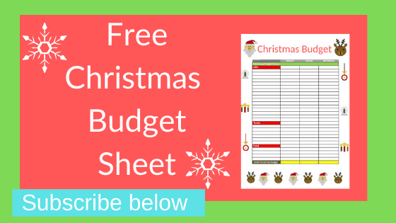 Do you need to create a Christmas budget? Use my cute Christmas budget planner. Subscribe and free download