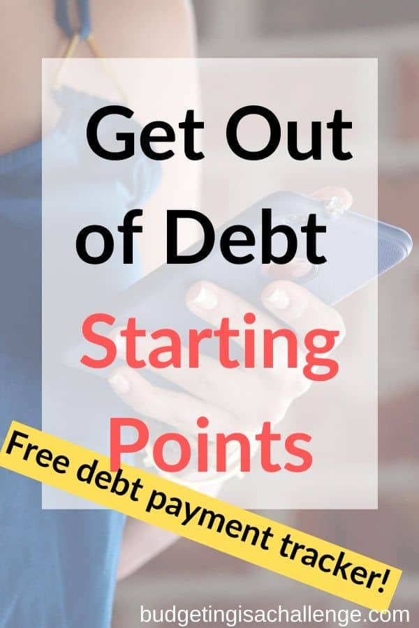 Do you want to pay off your debt? Fiona from over at misspennymoney goes through the first steps to debt payoff on a small income #debt #debtpayoff #getoutofdebt #debtfree #debtfreetracker