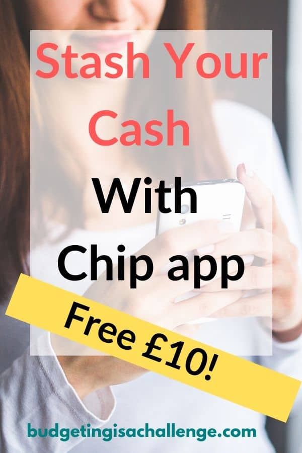 AD: Start 2020 with a bang by getting £10 with Chip app. Stash your cash automatically using AI