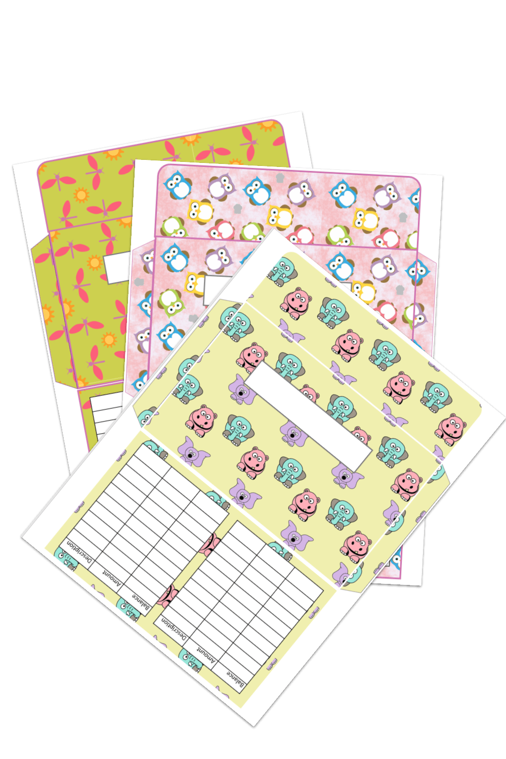 HAve you ever tried a cash envelope budget? It really works for me - try these cute cash envelopes! #cashenvelopes #cashisking