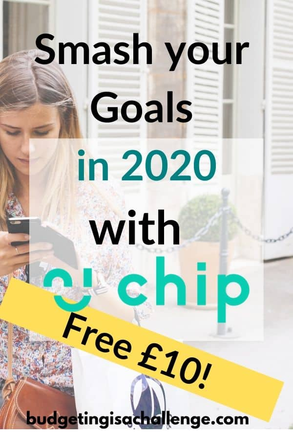 AD: Start 2020 with a bang by getting £10 with Chip app for stashing your cash without resorting to manual methods, using AI