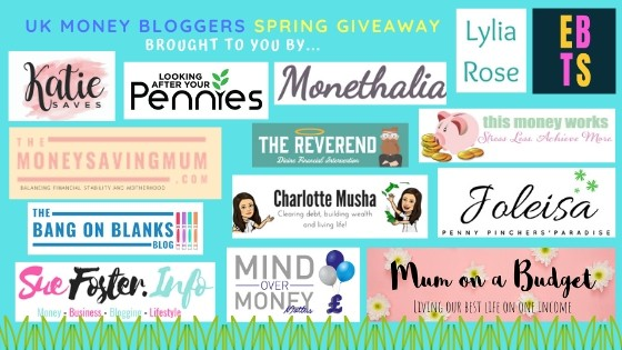 meet more of the UK money bloggers who have clubbed together to bring you this fab giveaway #freebie #competition