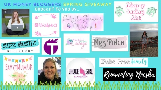 We are so excited to bring you this Easter hamper giveaway! Meet the UK Money Bloggers. #freebies #competition #giveaway #ukmoneybloggers