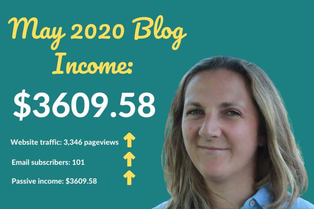 Read how I made over $3000 in May 2020 with my blog. Monetising your blog is so easy. Get my recommendations and an insight into how I did it.