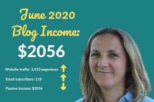 Blog Income Report June 2020 : How I Earned $2056
