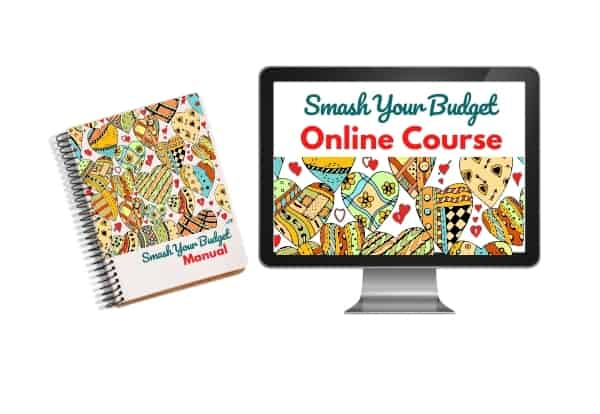 Smash your budget course and budget planner bundle