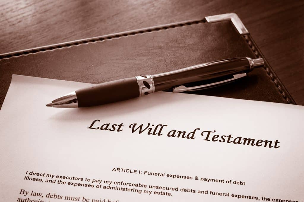 Read online will maker's post today on why you should have a last will and testament