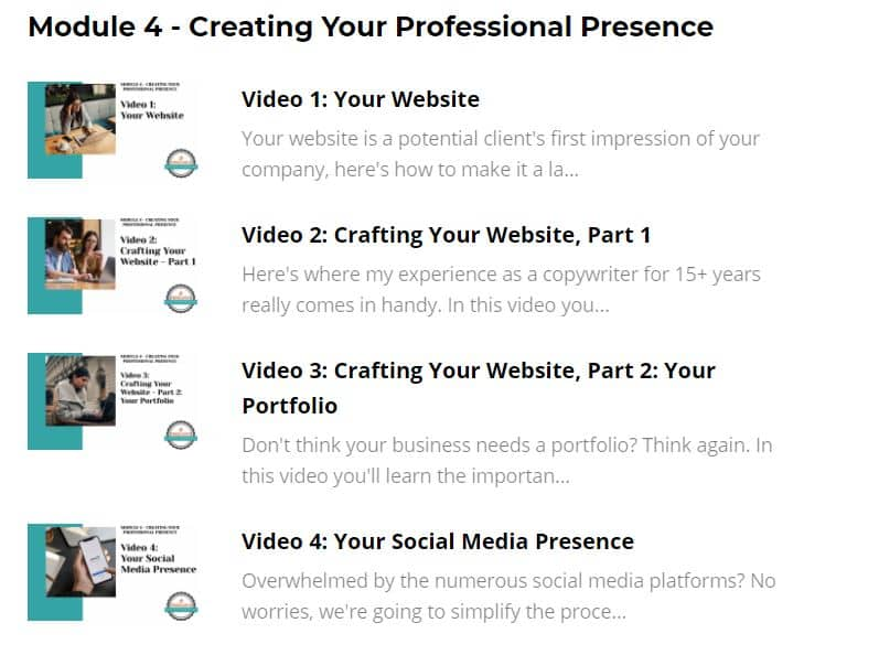 fired up freelance module 4 details